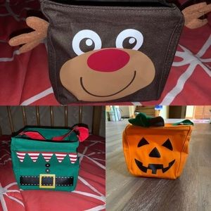 3pc Holiday little carry set